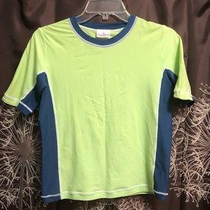 HANNA ANDERSSON Rash Guard Swim Top Shirt Size 150